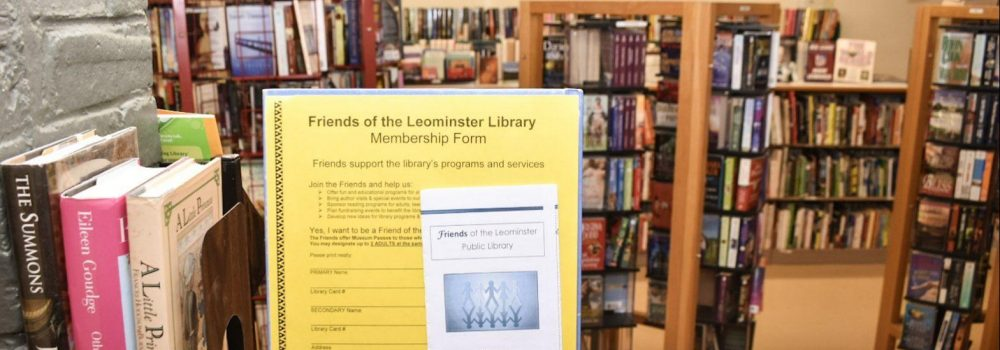 Friends of the Leominster Public Library Banner Image