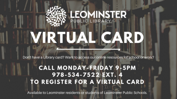 Get a Library Card Photo